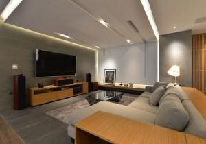 Thiết kế nhà: 2 căn hộ được gộp thành nơi ở sang trọng