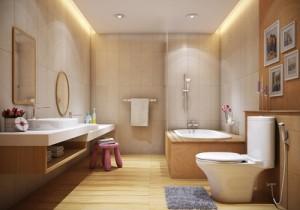 Những mẫu nhà tắm có thiết kế tiện lợi và đẹp mắt