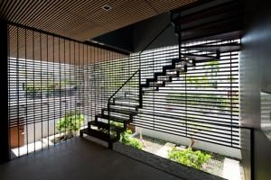 Thiết kế nhà 400m2 tránh ngập ở Sài Gòn