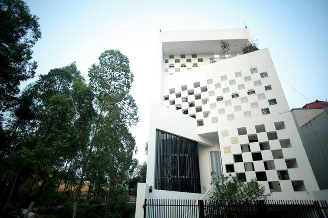 thiết kế ngôi nhà hướng Tây
