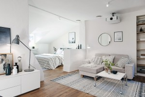 Thiết kế căn hộ 40m2 ở Hà Nội đẹp ngỡ ngàng