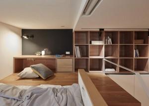 Thiết kế căn phòng 25m2 thành căn hộ cao cấp