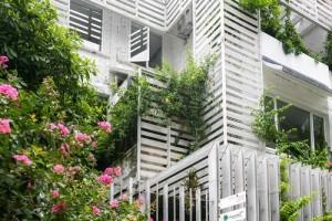 Biệt thự bỏ hoang ở Hà Nội thành nhà 3 tầng đẹp nhờ 500 triệu