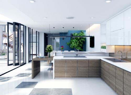 Thiết kế căn bếp