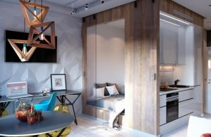 Thiết kế thông minh dành cho căn hộ hơn 30m2