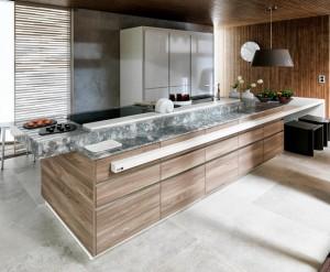 Những thiết kế phòng bếp đẹp cho nhà phố