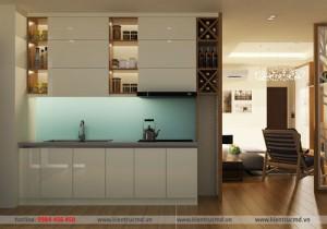 Thiết kế căn hộ 30m2 rộng thoáng mát ở Hà Nội