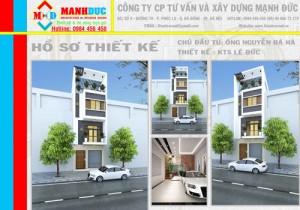 Thiết kế căn hộ 48m2 một gác xép đẹp