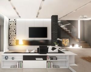 Thiết kế nhà 42m2 có 3 phòng ngủ thoáng và hiện đại