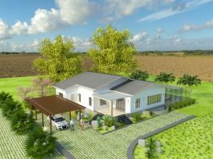 Cách xây nhà một tầng mát và tiết kiệm