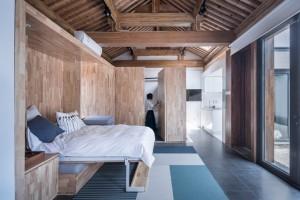 Nhà ngói 40 m2 có 3 phòng ngủ, nhưng vẫn thoáng