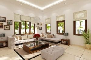 Thiết kế phòng khách đẹp với 4 bước
