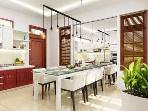 Những cách trang trí bếp gọn và đẹp để đón Tết