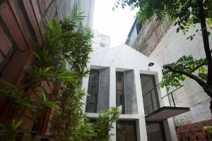 Thiết kế ngôi nhà 40m2 ở Hà Nội có sân vườn độc đáo