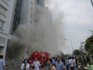 Bộ xây dựng chỉ đạo khẩn vụ cháy chung cư