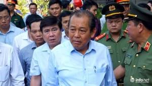 Cư dân chung cư Carina bật khóc khi gặp Phó Thủ tướng