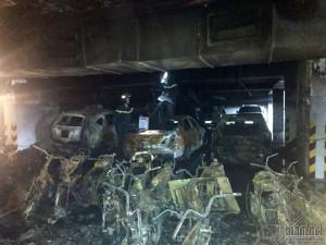 Hàng trăm chung cư ở TP.HCM không có hệ thống phòng cháy