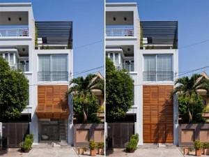 Những thiết kế cho nhà có mặt tiền hẹp