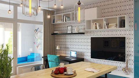 Những thiết kế nội thất ăn gian diện tích cho căn hộ nhỏ
