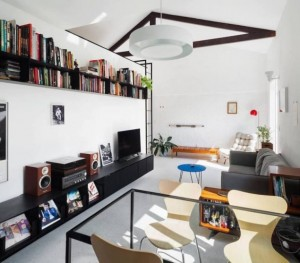 Thiết kế căn hộ 50 m2 rộng rãi và phong cách hiện đại