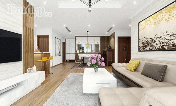 Thiết kế căn hộ giản dị mà sang trọng đến từng chi tiết