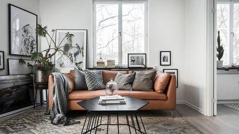 Thiết kế nội thất phòng khách ấn tượng với sofa