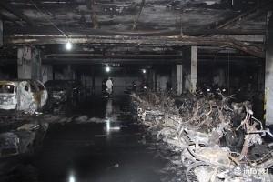 Vụ cháy khiến chung cư Carina có nguy cơ phải đập bỏ