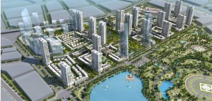 Thiết kế bên đường vành đai 3 ở Hà Nội bật đèn xanh cho nhà 50 tầng