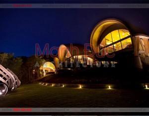 Khu resort có phong cách đẹp và lạ