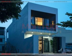 Kiến trúc nhà phố 2 tầng hiện đại – TP. Hà Nội