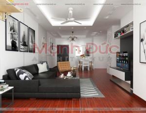 Thiết kế nội thất chung cư cao cấp Royal City – Toà R5 – C. Hải