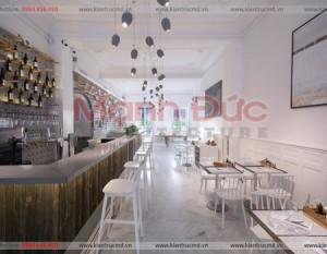 Thiết Kế nội thất quán Cafe Tres
