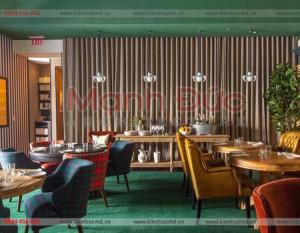 Mẫu nội thất quán cafe và nhà hàng mới nhất 2018