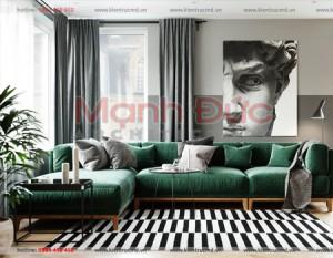 Thiết kế nội thất chung cư Goldmark city – Hồ Tùng Mậu – A. Vũ