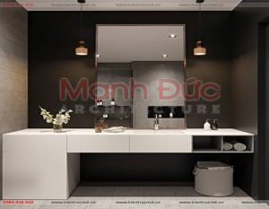 Thiết kế nội thất cao cấp chung cư Vũ Phạm Hàm – Chị Linh