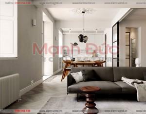 Thiết kế nội thất chung cư cao cấp Royal City – Toà R1 – A. Long
